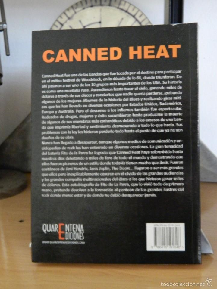 Libros de segunda mano: Canned Heat: Living The Blues - Fito de la Parra con Terry y Marlane McGarry - 2012 - Foto 2 - 55818757