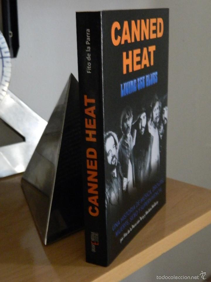 Libros de segunda mano: Canned Heat: Living The Blues - Fito de la Parra con Terry y Marlane McGarry - 2012 - Foto 3 - 55818757