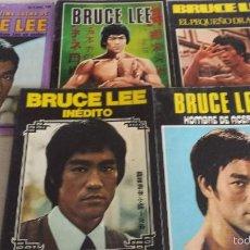 Libros de segunda mano: BRUCE LEE INEDITO KUNG FU ARTES MARCIALES REVISTAS FOTO DE CHUCK NORRIS. Lote 56204677