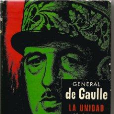 Libros de segunda mano: GENERAL DE GAULLE. MEMORIAS DE GUERRA. 3 TOMOS. Lote 56266212