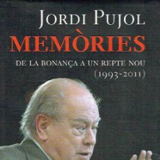 Libros de segunda mano: MEMÒRIES.. - JORDI PUJOL... Lote 56361672
