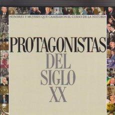 Libros de segunda mano: PROTAGONISTAS DEL SIGLO XX - EL PAIS EDITORIAL 2000. Lote 57259763