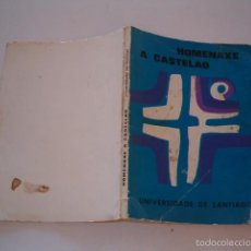 Libros de segunda mano: VV.AA. HOMENAXE A CASTELAO. RM74897. . Lote 57320041