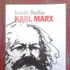 Libros de segunda mano: KARL MARX, SU VIDA Y SU ENTORNO. ISAIAH BERLIN. ED ALIANZA 2003; MOLT BON ESTAT V FOTOS MARXISME. Lote 57345149