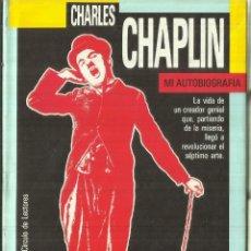 Libros de segunda mano: CHARLES CHAPLIN. MI AUTOBIOGRAFÍA. CÍRCULO DE LECTORES. BARCELONA. 1889. Lote 57432447