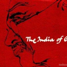 Libros de segunda mano: THE INDIA OF GANDHI (DEPT. TOURISM, ZODIAC PRESS, DELHI, C. 1960). Lote 57552388