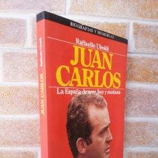 Libros de segunda mano: JUAN CARLOS, LA ESPAÑA DE AYER, HOY Y MAÑANA / 1985 / PLAZA & JANES. Lote 57769508