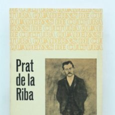 Libros de segunda mano: LIBRO / LIBRITO EN CATALÁN - PRAT DE LA RIBA. XAVIER FORT BUFILL - ED. BRUGUERA, AÑOS 60. Lote 57843681