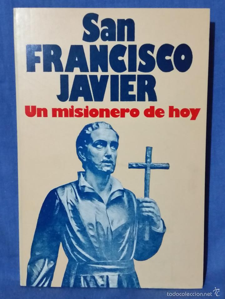 SAN FRANCISCO JAVIER. UN MISIONERO DE HOY - 1978 - ED. MUNDO NEGRO - TIPO CÓMIC (Libros de Segunda Mano - Biografías)