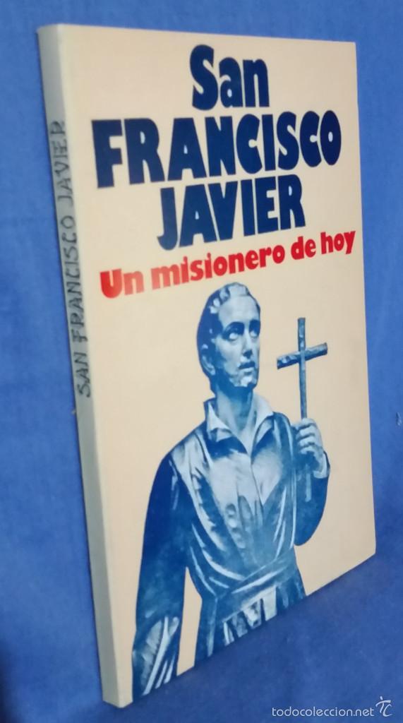 Libros de segunda mano: San Francisco Javier. Un Misionero de Hoy - 1978 - Ed. Mundo Negro - Tipo Cómic - Foto 3 - 57876780