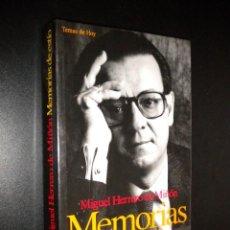 Libros de segunda mano: MEMORIAS DE ESTIO / MIGUEL HERRERO DE MIÑON. Lote 105774643