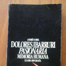 Dolores Ibarruri.La Pasionaria