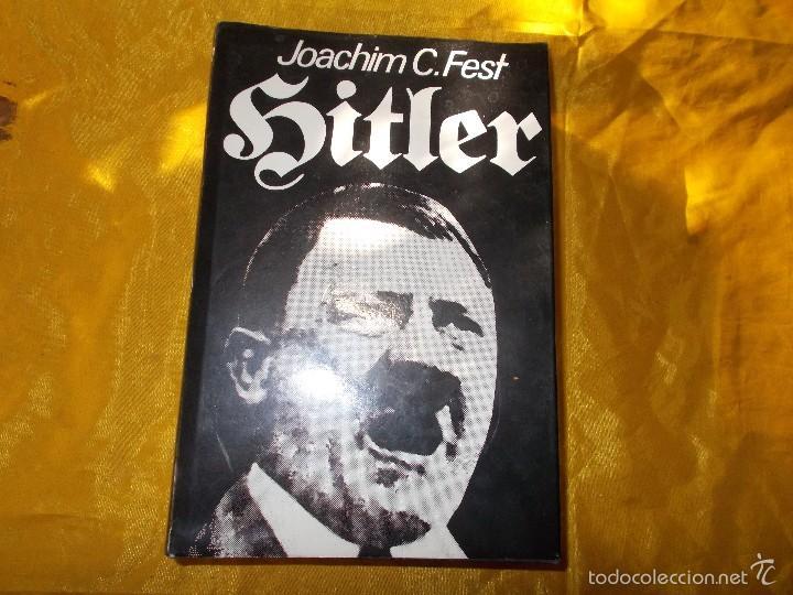 HITLER. JOACHIM C. FEST. VOL. 1. EDITORIAL NOGUER (Libros de Segunda Mano - Biografías)