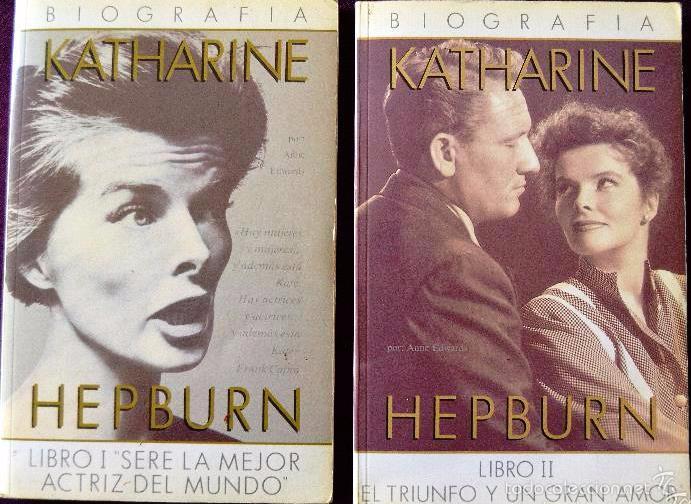 KATHARINE HEPBURN (2 TOMOS). BIOGRAFÍA. (Libros de Segunda Mano - Biografías)