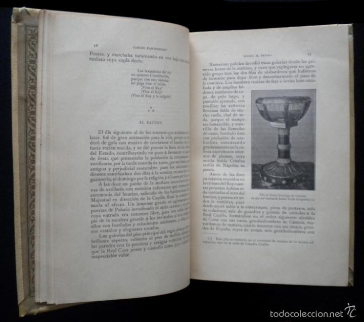 Libros de segunda mano: PCBROS - ISABEL II, ÍNTIMA - CARLOS CAMBRONERO - ED. MONTANER Y SIMÓN - 1908 - ED. ILUSTRADA - Foto 5 - 58526663