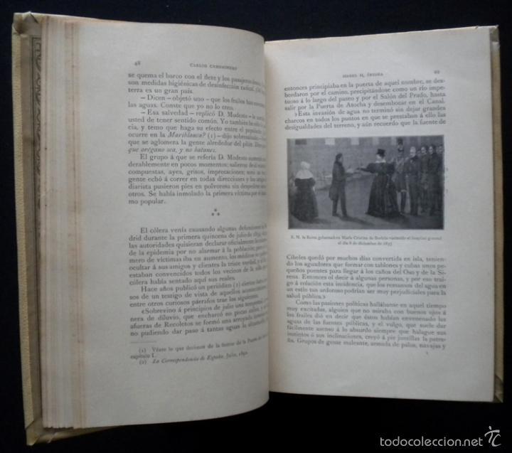Libros de segunda mano: PCBROS - ISABEL II, ÍNTIMA - CARLOS CAMBRONERO - ED. MONTANER Y SIMÓN - 1908 - ED. ILUSTRADA - Foto 7 - 58526663