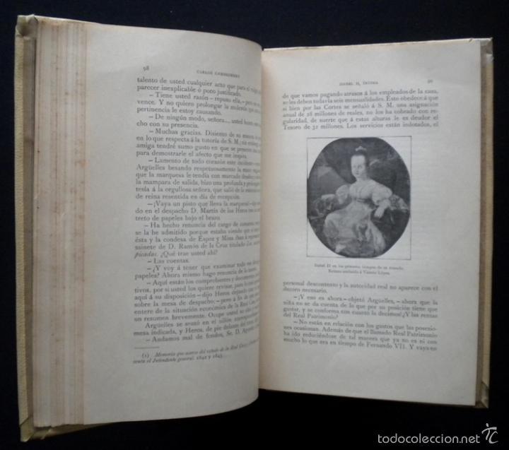 Libros de segunda mano: PCBROS - ISABEL II, ÍNTIMA - CARLOS CAMBRONERO - ED. MONTANER Y SIMÓN - 1908 - ED. ILUSTRADA - Foto 9 - 58526663