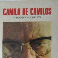 Libros de segunda mano: CAMILO DE CAMILOS DE RAFAEL FLOREZ (BITÁCORA). Lote 58933165
