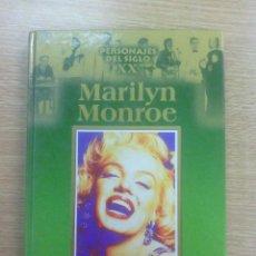 Libros de segunda mano: PERSONAJES DEL SIGLO XX - MARILYN MONROE (EDICIONES RUEDA). Lote 59955859