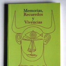 Libros de segunda mano: MEMORIAS, RECUERDOS Y VIVENCIAS - FLORENCIA MARINA CISNEROS MENENDEZ DE LLANO. Lote 61297431