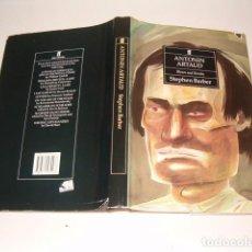 Libros de segunda mano: STEPHEN BARBER. ANTONIN ARTAUD. BLOWS AND BOMBS. RM76549. . Lote 61543224