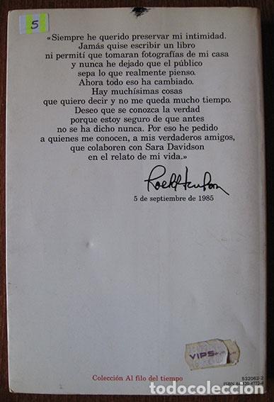 Libros de segunda mano: ROCK HUDSON - SU VIDA - EDITORIAL PLANETA, 1987 - - Foto 2 - 61937312