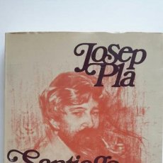 Libros de segunda mano: JOSEP PLA. SANTIAGO RUSIÑOL I EL SEU TEMPS. ED. DESTINO, 1981. NUEVO.. Lote 62114902
