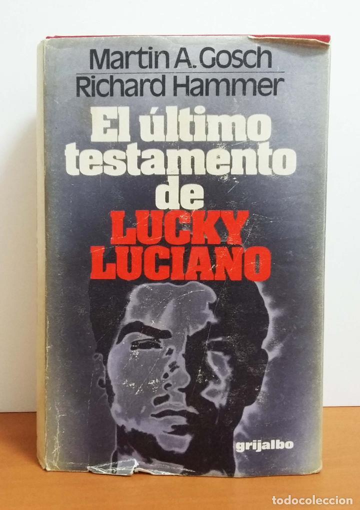 El último testamento de lucky luciano - martin - Vendido en Venta Directa -  68032634