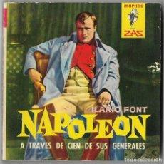 Libros de segunda mano: NAPOLEÓN A TRAVÉS DE CIEN DE SUS GENERALES. JOSÉ ILARIO FONT - 1962. Lote 62999856