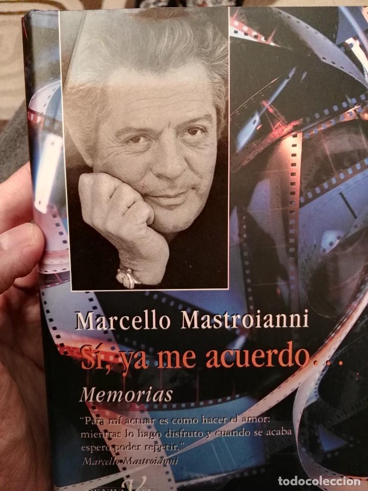 LIBRO MARCELLO MASTROIANI (Libros de Segunda Mano - Biografías)