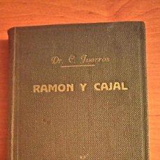 Libros de segunda mano: RAMÓN Y CAJAL 1934 CÉSAR JUARROS. Lote 66052454