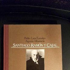 Libros de segunda mano: SANTIAGO RAMÓN Y CAJAL. PEDRO LAÍN ENTRALGO Y AGUSTÍN ALBARRACÍN. EDITORIAL LABOR. ILUSTRADO.. Lote 66226410