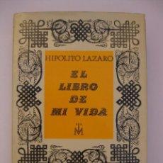 Libros de segunda mano: EL LIBRO DE MI VIDA - HIPOLITO LAZARO - MADRID 1968 TENOR ZARZUELA MÚSICA AUTOBIOGRAFÍA. Lote 68342709