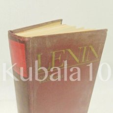Libros de segunda mano: LENIN · OBRAS ESCOGIDAS ·· ED. PROGRESO ·· MOSCÚ. Lote 70382001