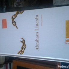 Libros de segunda mano: ABRAHAM LINCOLN. Lote 70679769