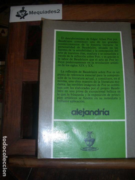 Libros de segunda mano: EDGAR ALLAN POE - BAUDELAIRE - Foto 2 - 72164743