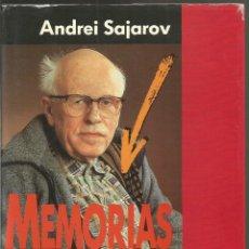 Libros de segunda mano: ANDREI SAJAROV. MEMORIAS. PLAZA & JANES. Lote 73422671