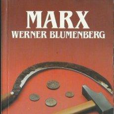 Libros de segunda mano: WERNER BLUMENBERG : MARX. (PRÓLOGO DE SANTOS JULIÁ. BIBLIOTECA SALVAT DE GRANDES BIOGRAFÍAS, 1984). Lote 76539863