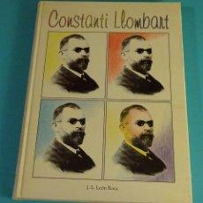 Libros de segunda mano: CONSTANTI LLOMBART. J.L. LEÓN ROCA. LO RAT PENAT. Lote 77528709