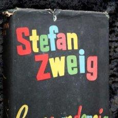 Libros de segunda mano: CORRESPONDENCIA - STEFAN ZWEIG - 1957 - PRIMERA EDICION - TAPA DURA CON SOBRECUBIERTA. Lote 77859837