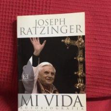 Libros de segunda mano: MI VIDA. AUTOBIOGRAFÍA (JOSEPH RATZINGER). Lote 78588975