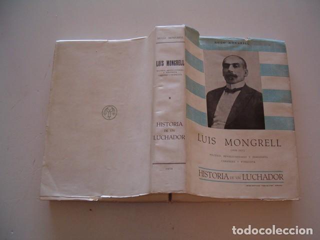 HUGO MONGRELL. LUIS MONGRELL (1858-1937). RM79326. (Libros de Segunda Mano - Biografías)