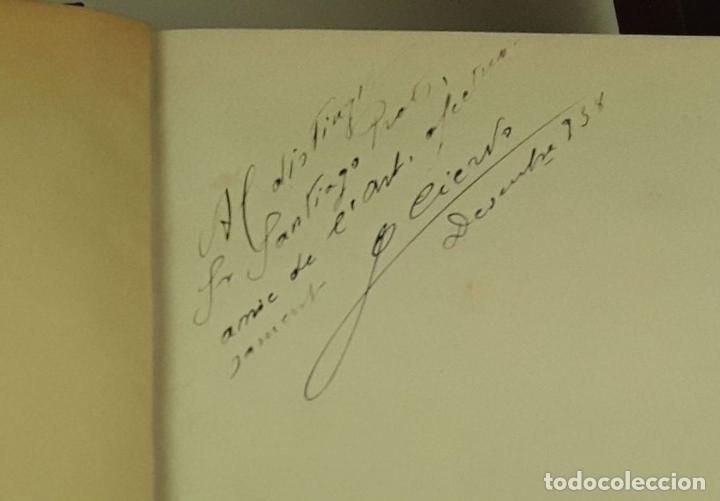 Libros de segunda mano: FORTUNY. EJEMPLAR CON DEDICATORIA Y FIRMA. JOAQUIM CIERVO. EDI. ELS CUADERNS DART. 1938?. - Foto 3 - 80557642