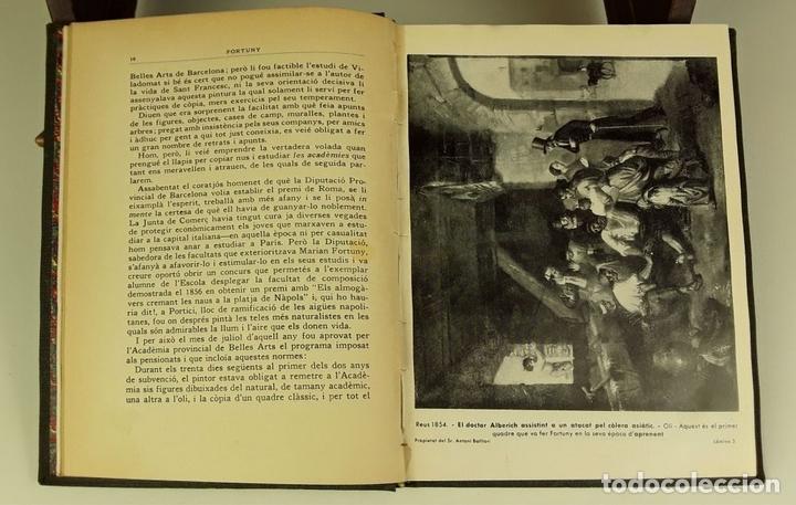Libros de segunda mano: FORTUNY. EJEMPLAR CON DEDICATORIA Y FIRMA. JOAQUIM CIERVO. EDI. ELS CUADERNS DART. 1938?. - Foto 6 - 80557642
