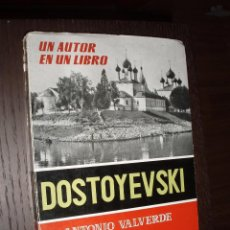 Libros de segunda mano: LIBRO DOSTOYEVSKI,UN AUTOR EN UN LIBRO. Lote 82339324
