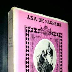 Libros de segunda mano: AMADEO Y MARIA VICTORIA / ANA DE SAGRERA. Lote 82619712