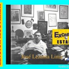 Libros de segunda mano: JOSÉ LEZAMA LIMA (1910 - 1976) - CATÁLOGO DE LA EXPOSICIÓN / BIOGRAFÍA - CÍRCULO DE BELLAS ARTES. Lote 85147892