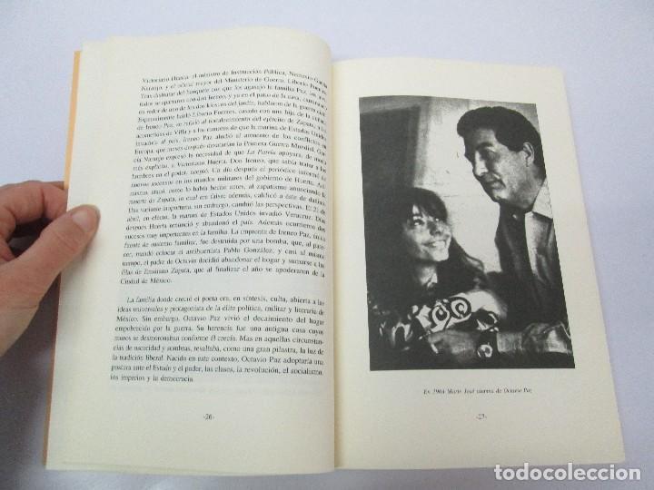 Libros de segunda mano: BIOGRAFIA POLITICA DE OCTAVIO PAZ O LA RAZON ARDIENTE. FERNANDO VIZCAINO. ALGAZARA 1993. VER FOTOS - Foto 11 - 85213612