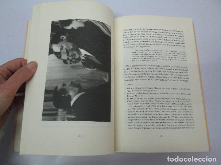 Libros de segunda mano: BIOGRAFIA POLITICA DE OCTAVIO PAZ O LA RAZON ARDIENTE. FERNANDO VIZCAINO. ALGAZARA 1993. VER FOTOS - Foto 13 - 85213612