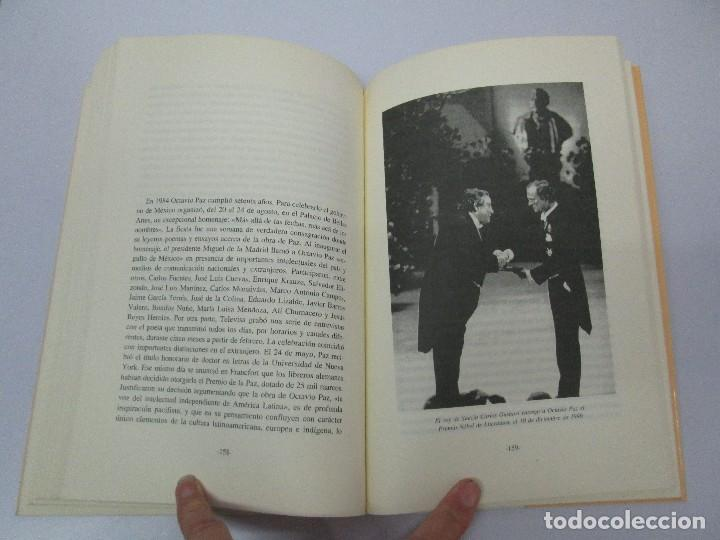 Libros de segunda mano: BIOGRAFIA POLITICA DE OCTAVIO PAZ O LA RAZON ARDIENTE. FERNANDO VIZCAINO. ALGAZARA 1993. VER FOTOS - Foto 16 - 85213612